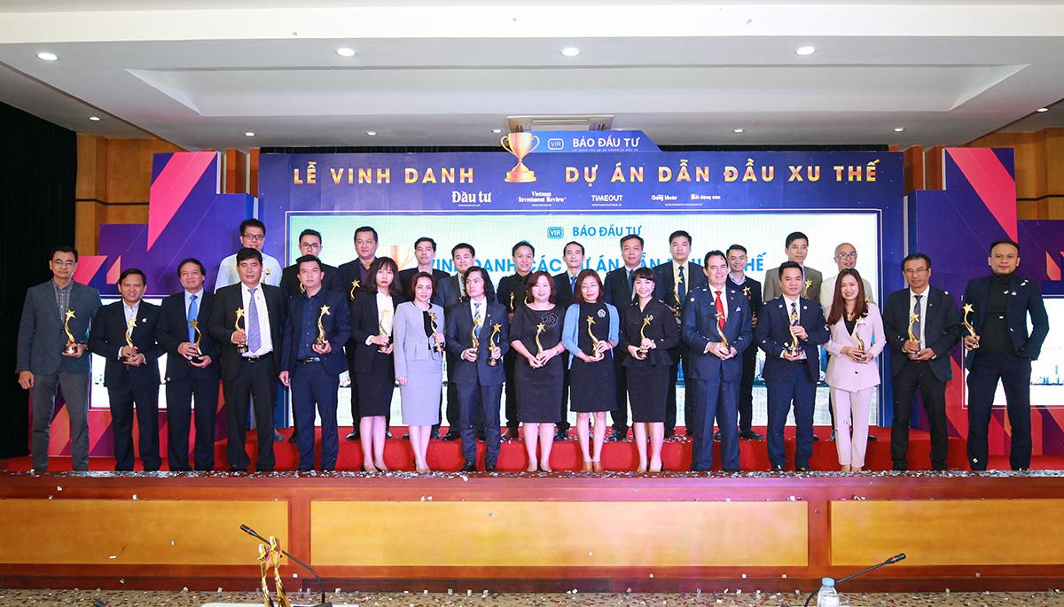Đại diện 36 dự án tại Lễ Vinh danh.